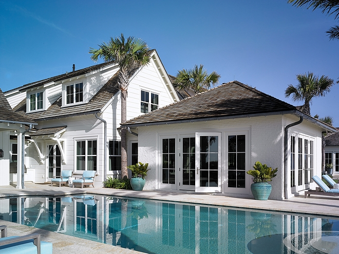 Pool by house Patio Pool close to house #pool