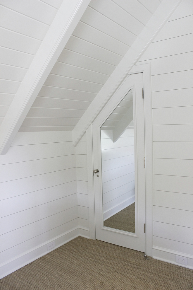 Attic with Tongue and Groove walls and ceiling Tongue and Groove #attic #TongueandGroove