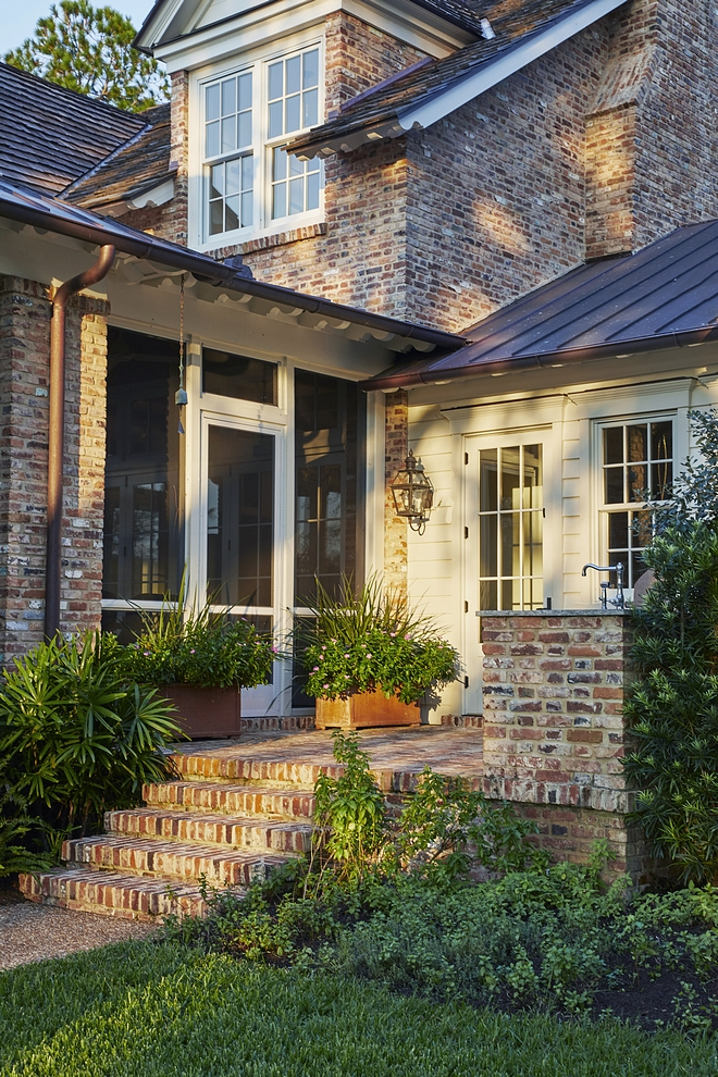 Brick Exterior Brick Exterior Brick is Reclaimed Old Chicago brick with rough mortar Classic Brick Exterior Brick is Reclaimed Old Chicago brick with rough mortar.