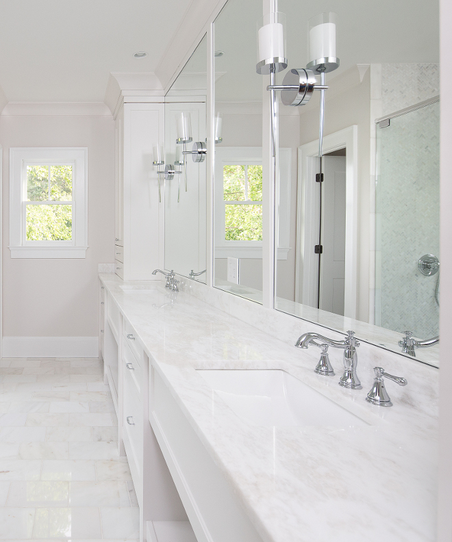 Bathroom Countertop White Rhino Marble White Rhino Marble Countertop is White Rhino Marble Bathroom #BathroomCountertop #WhiteRhinoMarble