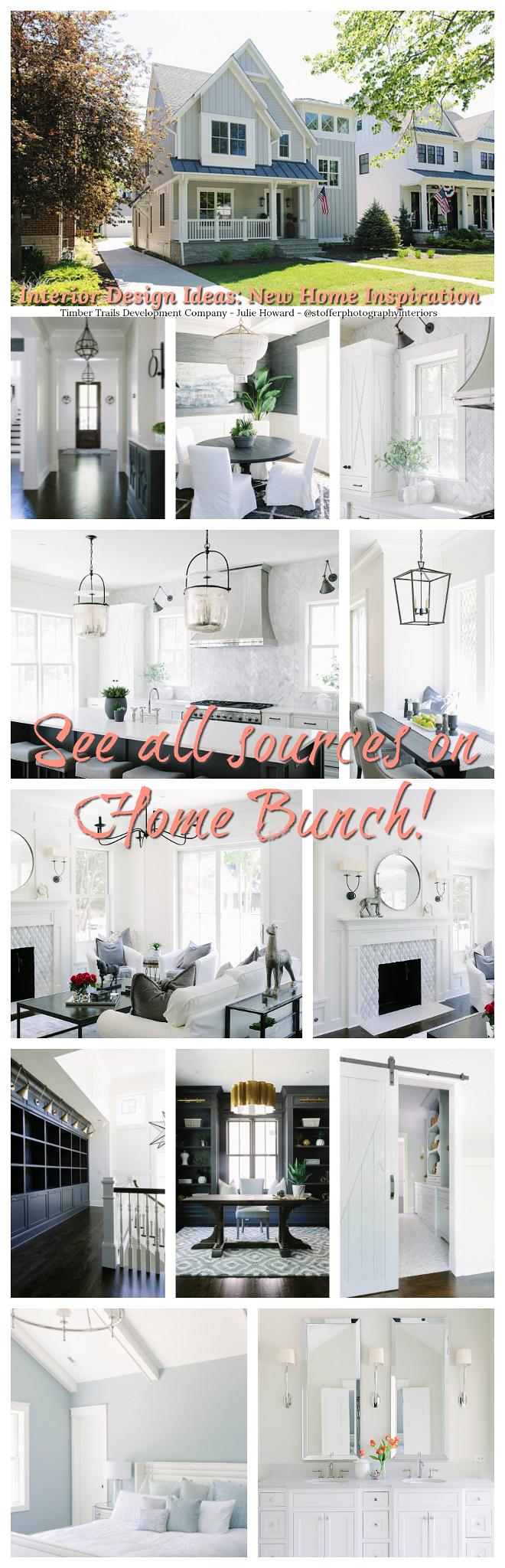 Interior Design Ideas New Home Inspiration Interior Design Ideas New Home Inspiration sources on Home Bunch #InteriorDesignIdeas #NewHomeInspiration