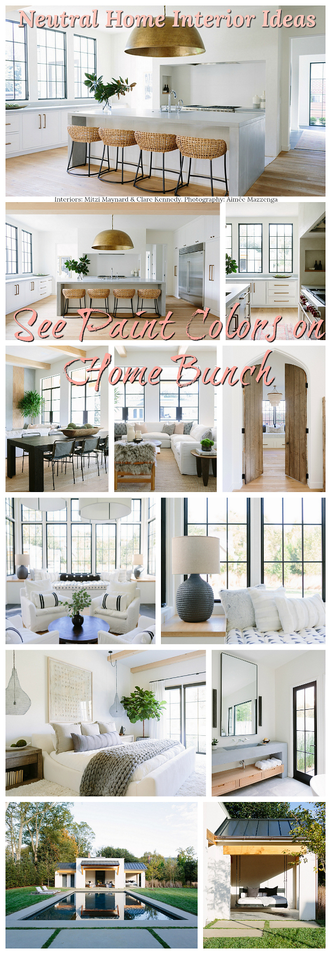 Neutral Home Interior Ideas See paint colors on Home Bunch Neutral Home Interior Ideas #NeutralHome #NeutralInteriors #NeutralinteriorIdeas