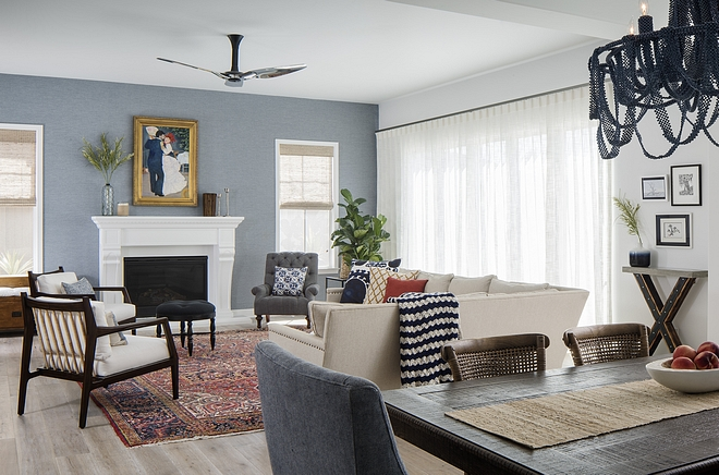 Transitional Dining Room to family Room Color Scheme Blue White Red Navy Blue Transitional Dining Room to family Room Color Scheme Blue White Red Navy Blue #TransitionalDiningRoom #familyRoom #ColorScheme #BlueandWhite #RedandNavyBlue