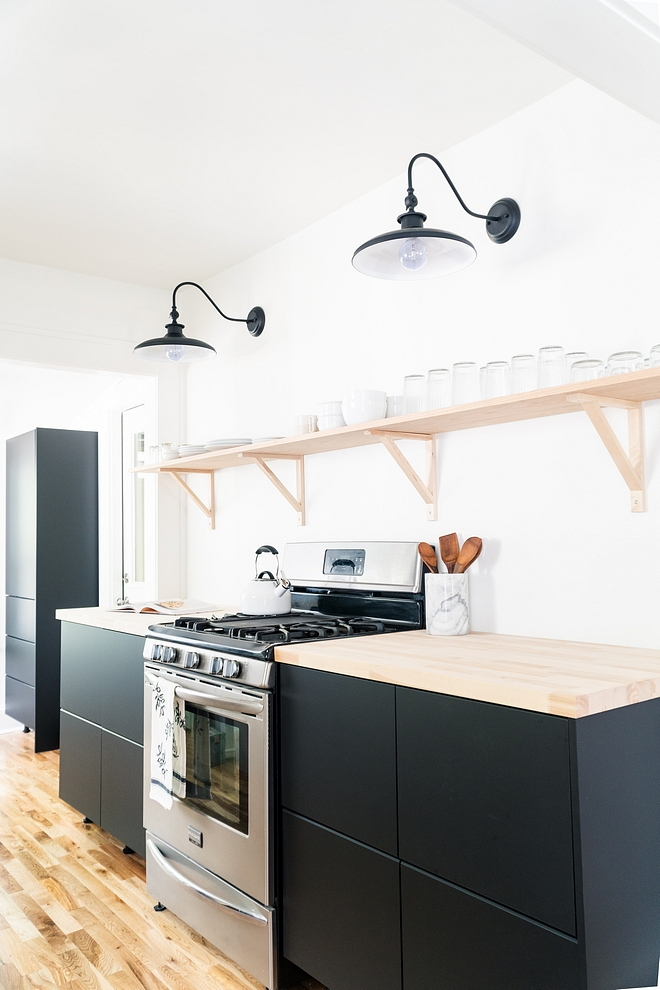 Ikea Kitchen Cabinet Recycled Kitchen Cabinet Matte Black kitchen cabinet doors made entirely from recycled plastic bottles and reclaimed industrial wood #IkeaKitchen #IkeakitchenCabinet #RecycledKitchenCabinet #ikeakitchen #ikea #MatteBlackkitchencabinet