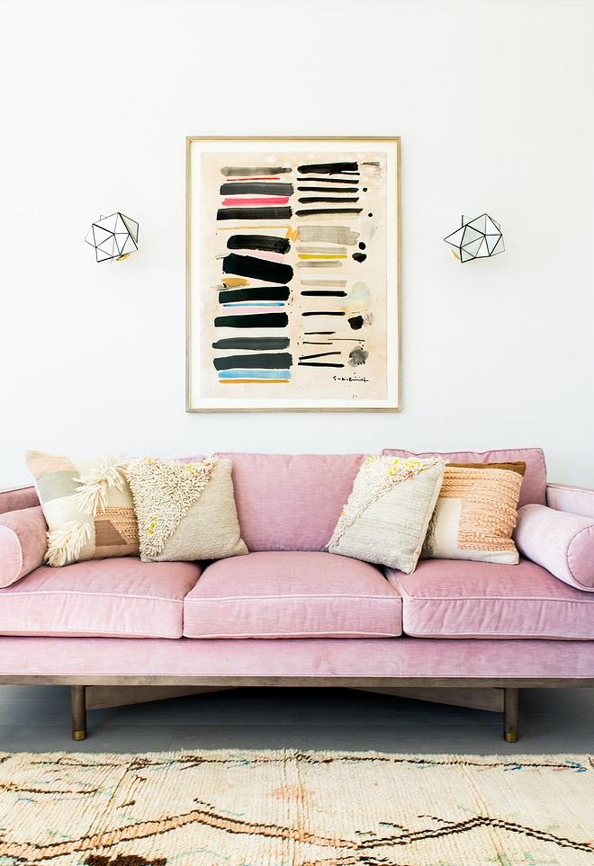 Blush Pink Sofa Mid Century Sofa Blush Pink Sofa Mid Century Sofas Blush Pink Sofa Mid Century Sofa #BlushPinkSofa #MidCenturySofa