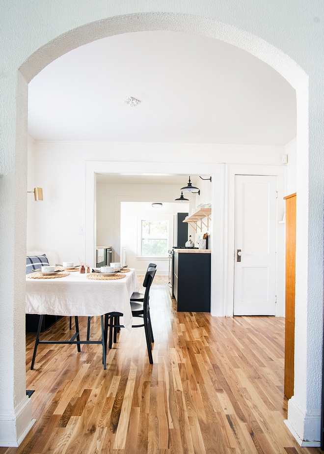 Solid oak hardwood Solid oak hardwood floor Beautiful and timeless Solid oak hardwood flooring #Solidoakhardwoodflooring