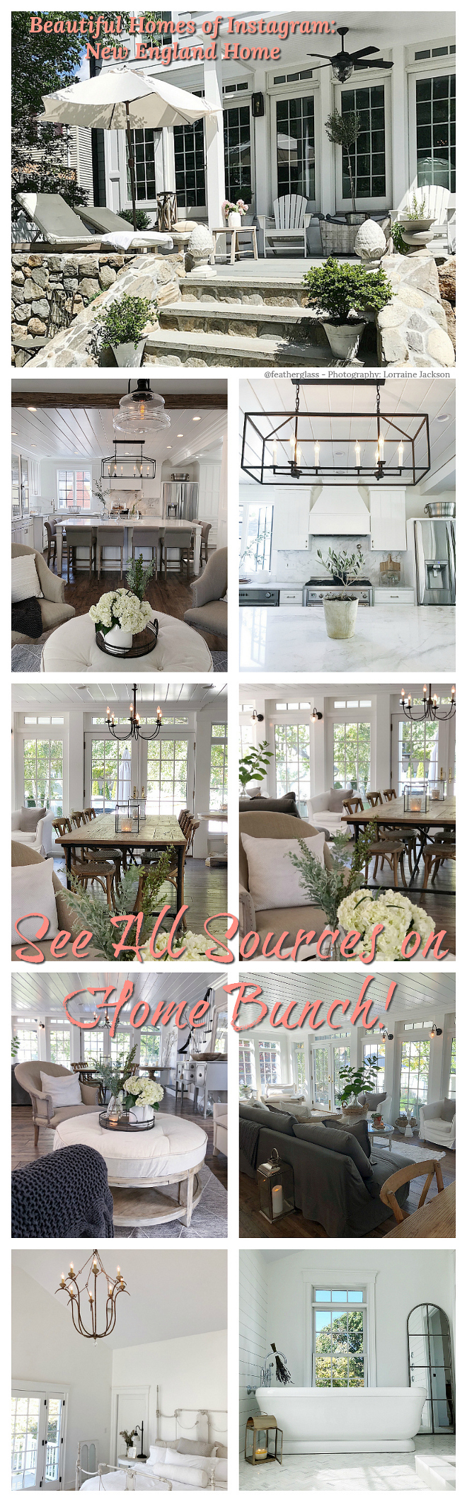 Beautiful Homes of Instagram New England Home Beautiful Homes of Instagram New England Home #BeautifulHomes #Instagram #NewEnglandHomes