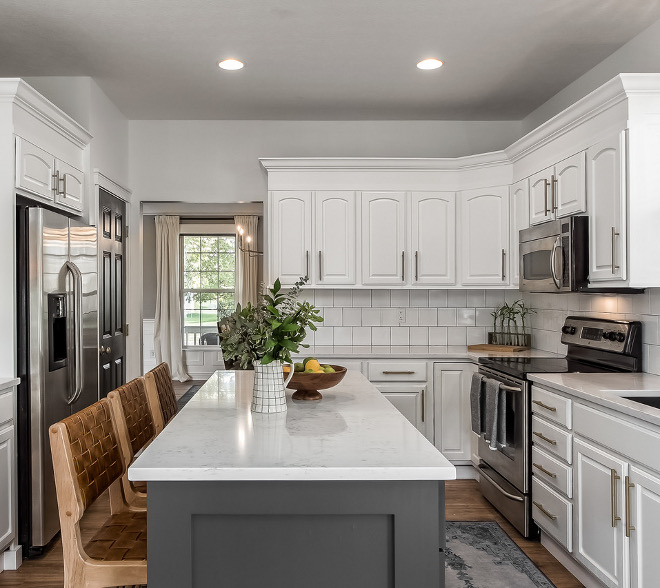 Kitchen Remodel How to renovate a kitchen Where to splurge and where to save See how this first-time buyers renovated their kitchen #kitchenremodel #kitchenrevation #kitchenrenovation #firsttimebuyers
