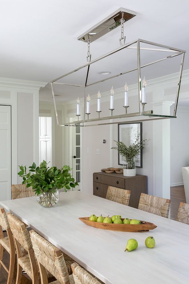 Linear Chandelier, Polished Nickel Dining room Linear Chandelier, Polished Nickel Linear Chandelier, Polished Nickel #LinearChandelier #PolishedNickel