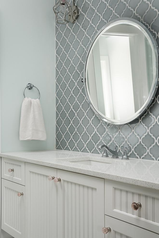 Arabesque Tile Grey Arabesque Tile bathroom Arabesque Tile #ArabesqueTile