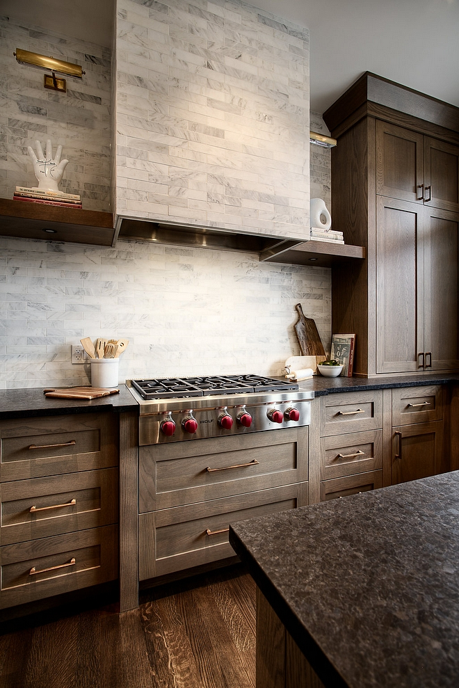 Tile Hood Clean seamless look Hood Tile Backsplash Hood Tile 2x8 linen Oriental White marble tile Tile Hood Clean seamless look Hood Til #Tile #Hoodtile
