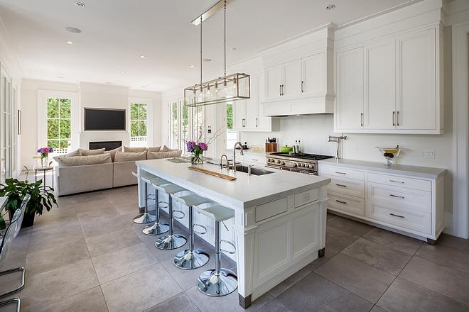 Benjamin Moore OC-17 White Dove Kitchen Cabinet Paint Color Benjamin Moore OC-17 White Dove Kitchen Cabinet Paint Color on kitchens #BenjaminMooreOC17WhiteDove #Kitchen #CabinetPaintColor