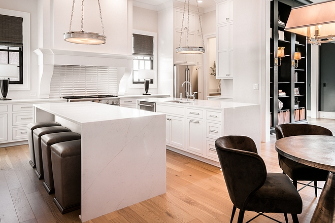 Kitchen with double islands Kitchen Island Dimension 2 islands each is 8' x 3' Both of islands offer space for counterstools Kitchen with double islands Kitchen Island Dimension #Kitchenwithdoubleislands #doubleislands #kitchendoubleislands #KitchenIslands