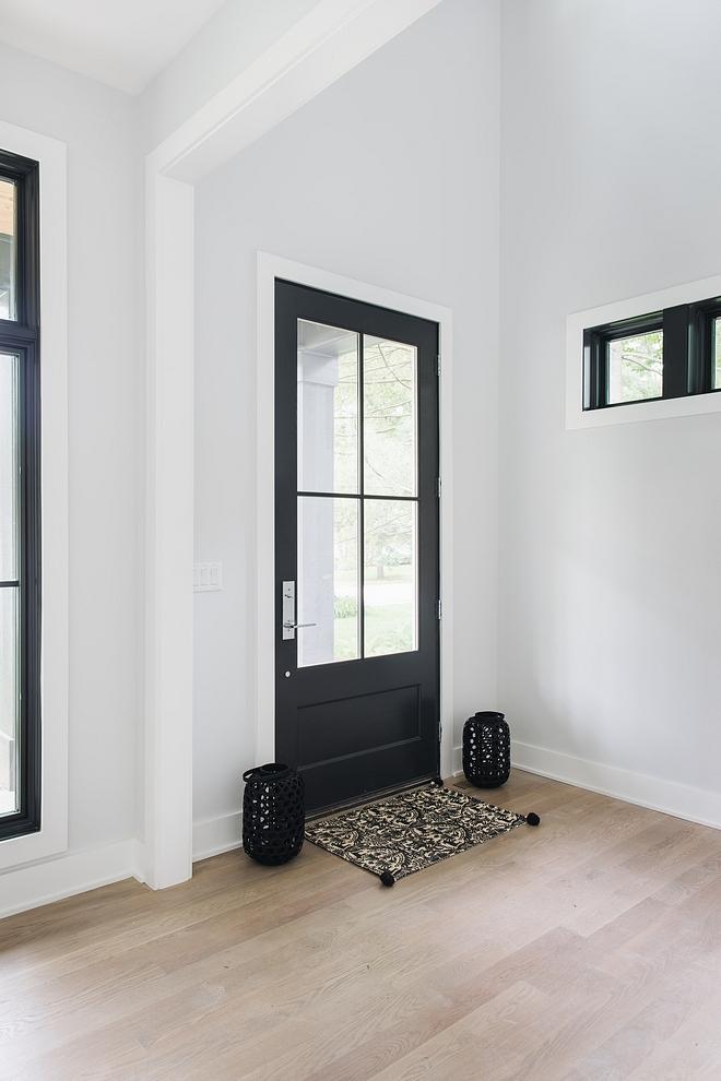 Interior Black Door Paint Color Sherwin Williams Iron Ore Best Interior Black Door Paint Color Sherwin Williams Iron Ore #InteriorBlackDoor #PaintColor #SherwinWilliamsIronOredoor