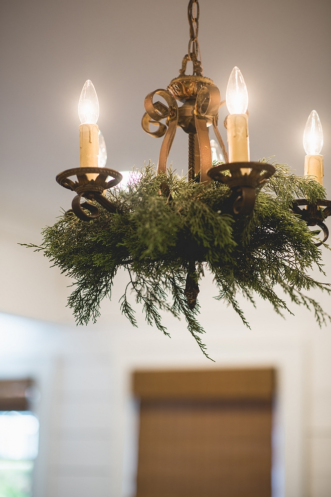 Natural Christmas Chandelier Greenery Affordable, aromatic and fast way to decorate your home for Christmas Natural Christmas Chandelier Greenery Ideas Natural Christmas Chandelier Greenery #NaturalChristmasChandelier #ChristmasGreenery
