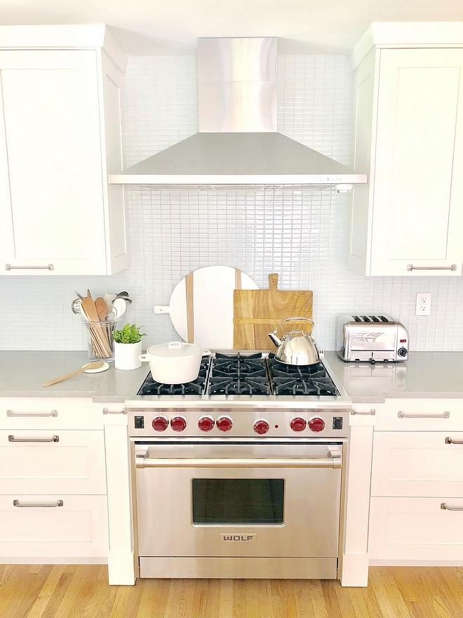 Decorators White by Benjamin Moore Kitchen Cabinet Paint Color
