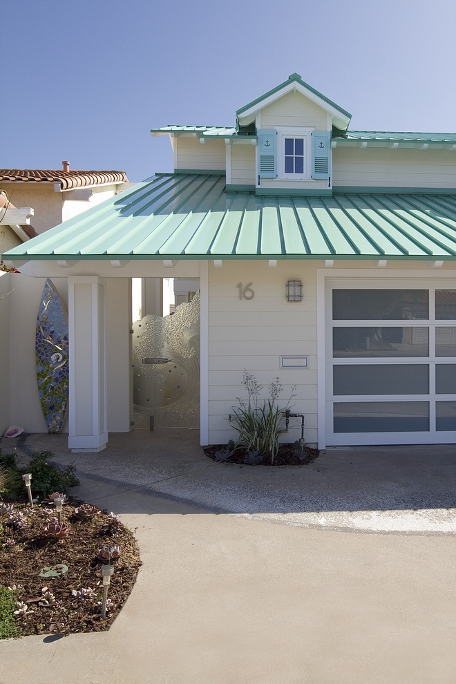 Metal roof Beach house Coastal home with metal roof Metal roof Beach house ideas Metal roof Beach house #Metalroof #Beachhouse