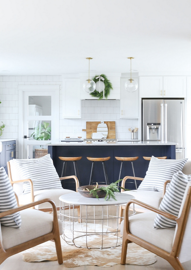 I absolutely love the idea of having a sitting area off the kitchen I think it encourages the family to spend more time together