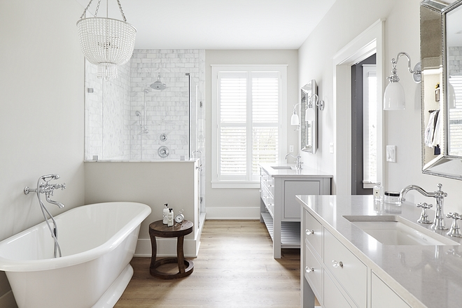 Pale Oak OC 20by Benjamin Moore Light grey paint color for bathrooms Pale Oak OC 20by Benjamin Moore Light grey paint color #PaleOakOC20BenjaminMoore #Lightgreypaintcolor