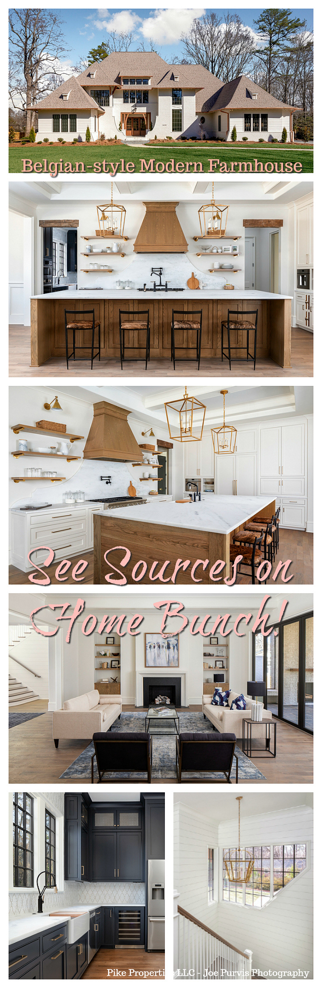 Belgian-style Modern Farmhouse #farmhouse #Belgianfarmhouse #modernfarmhouse