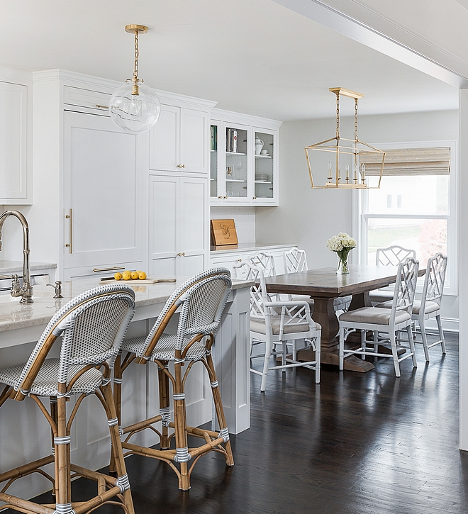 Benjamin Moore Classic Gray The kitchen walls are Benjamin Moore Classic Gray Benjamin Moore Classic Gray #BenjaminMooreClassicGray #paintcolor #BenjaminMoore #kitchenpaintcolor