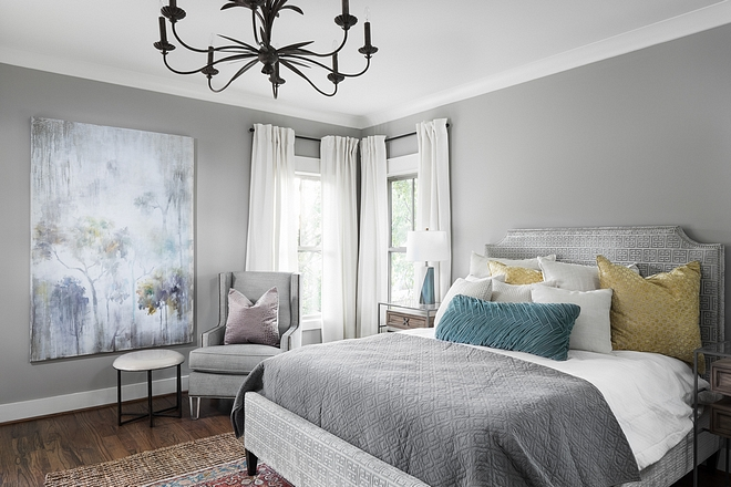 SW 7016 Mindful Gray Grey Bedroom Paint Color SW 7016 Mindful Gray SW 7016 Mindful Gray SW 7016 Mindful Gray #SW7016 #MindfulGray