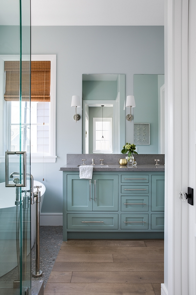 Dunn Edwards DE6298 Agate Green The cabinet paint color is Dunn Edwards DE6298 Agate Green, Semi-gloss Dunn Edwards DE6298 Agate Green Dunn Edwards DE6298 Agate Green #DunnEdwardsDE6298AgateGreen #DunnEdwardsAgateGreen #DunnEdwardsAgateGreen