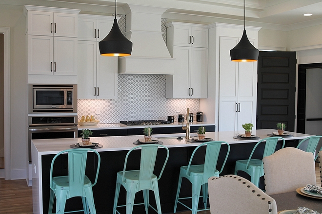 Black and white kitchen Transitional Black and white kitchen Black and white kitchen Black and white kitchen Black and white kitchen #Blackandwhitekitchen