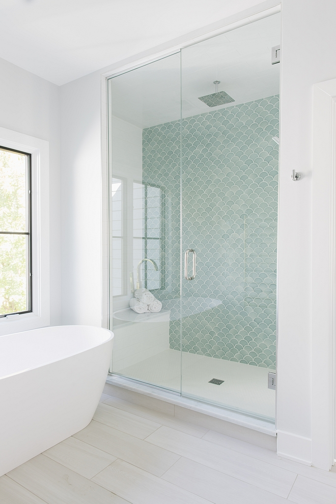 Hexagon White Matte Shower tile Cheap timeless and it goes with any other type of tile Hexagon White Matte floor tile #HexagonWhitetile #MatteShowertile