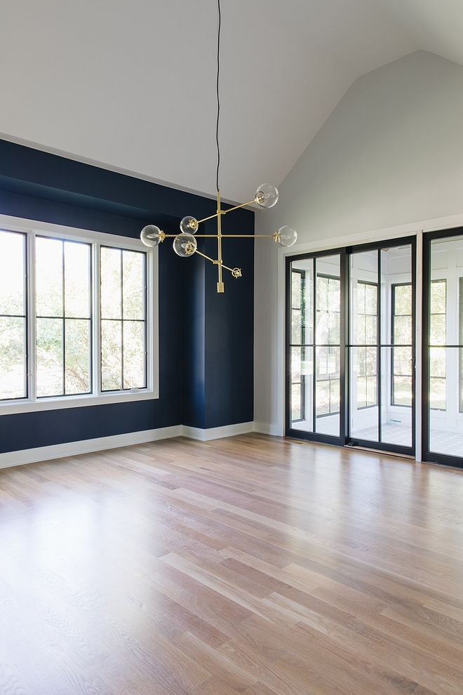 Sherwin Williams SW 6244 Naval Accent Paint Color Sherwin Williams SW 6244 Naval on window wall paint color Sherwin Williams SW 6244 Naval #SherwinWilliamsSW6244Naval