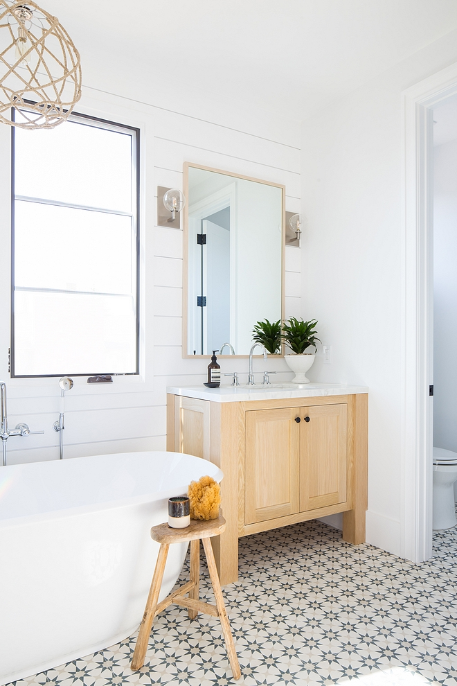Bleached White Oak Cabinet The vanities are bleached White Oak with a clear matte lacquer Bathroom vanity Bleached White Oak Cabinet #BleachedWhiteOakCabinet #WhiteOakCabinet #bathroomvanity #bathroom #vanituy