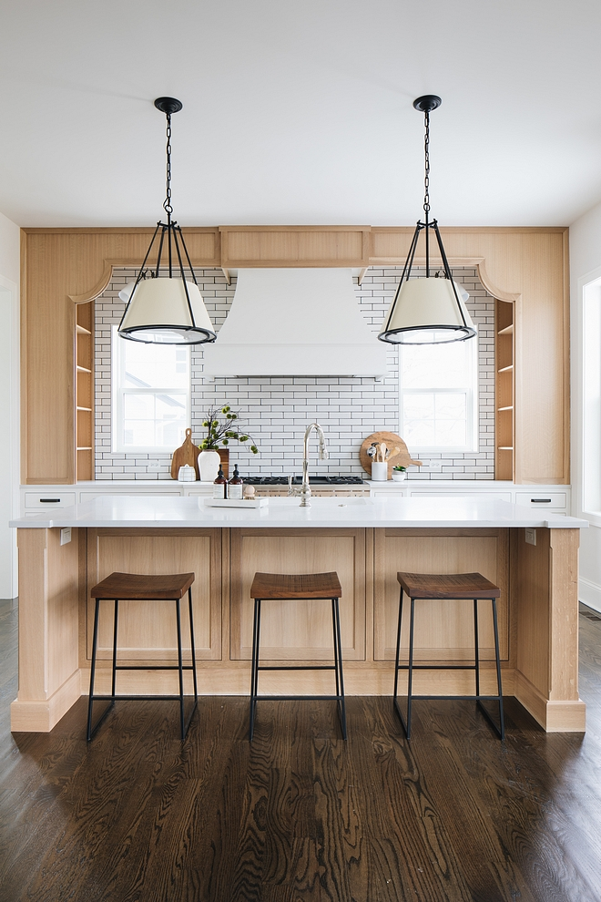 Kitchen To maximize the storage, we turned the cabinets sideways so they could be larger. When doing this we though we'd like to take off the doors and connect the cabinets by using an awning type apron #Kitchen