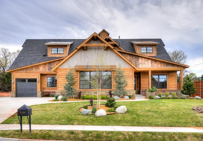 mid century modern farmhouse home