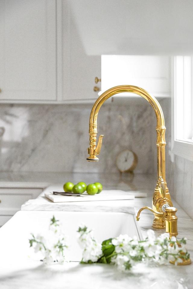 Polished Brass Kitchen Faucet Best Polished Brass Kitchen Faucets Polished Brass Kitchen Faucet Ideas Waterstone Polished Brass Kitchen Faucet #PolishedBrassFaucet #KitchenFaucet #PolishedBrassKitchenFaucet