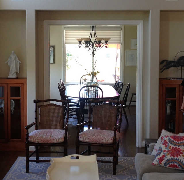 Before and After Dining Room Renovation See after pictures on Home Bunch blog
