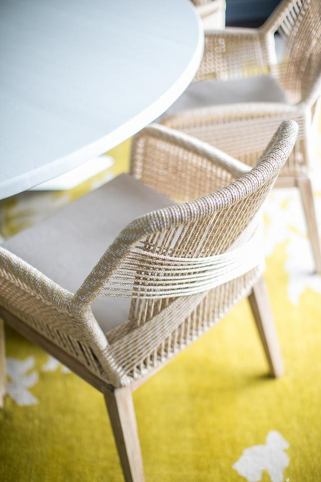 Woven Rope Dining Chair Woven Rope Dining Chair Woven Rope Dining Chair #Wovendiningchair #RopeDiningChair