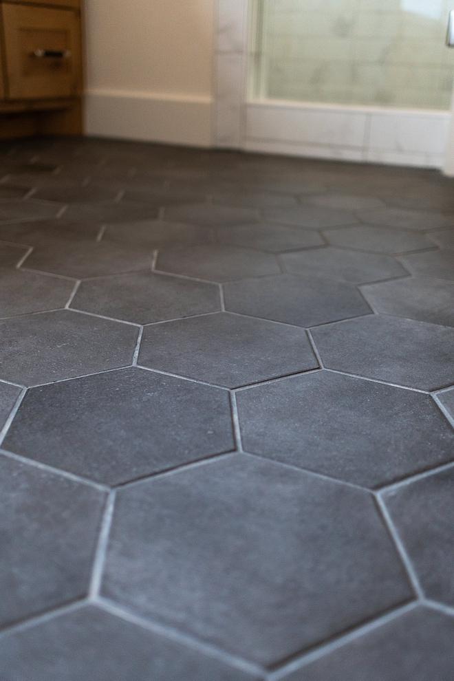 """Floor tiles are 8"""" Matte Black hex Floor tiles are 8"""" Matte Black hex #Floortiles #Mattehex"""