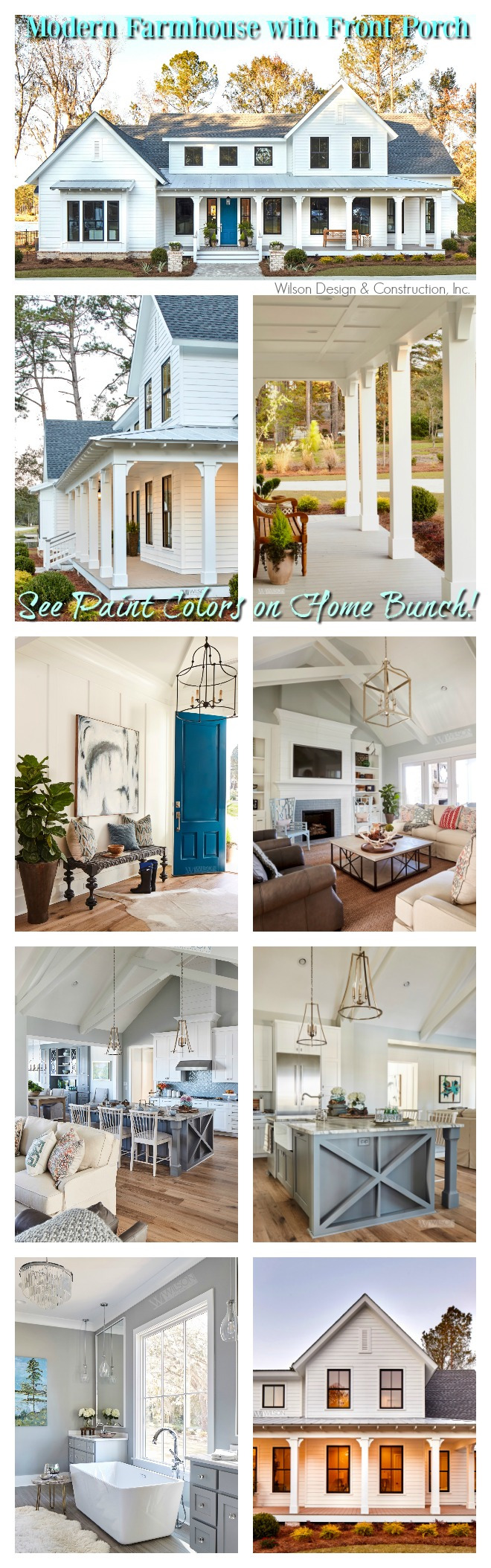 Modern Farmhouse with Front Porch Modern Farmhouse with Front Porch Modern Farmhouse with Front Porch #ModernFarmhouse #FarmhouseFrontPorch