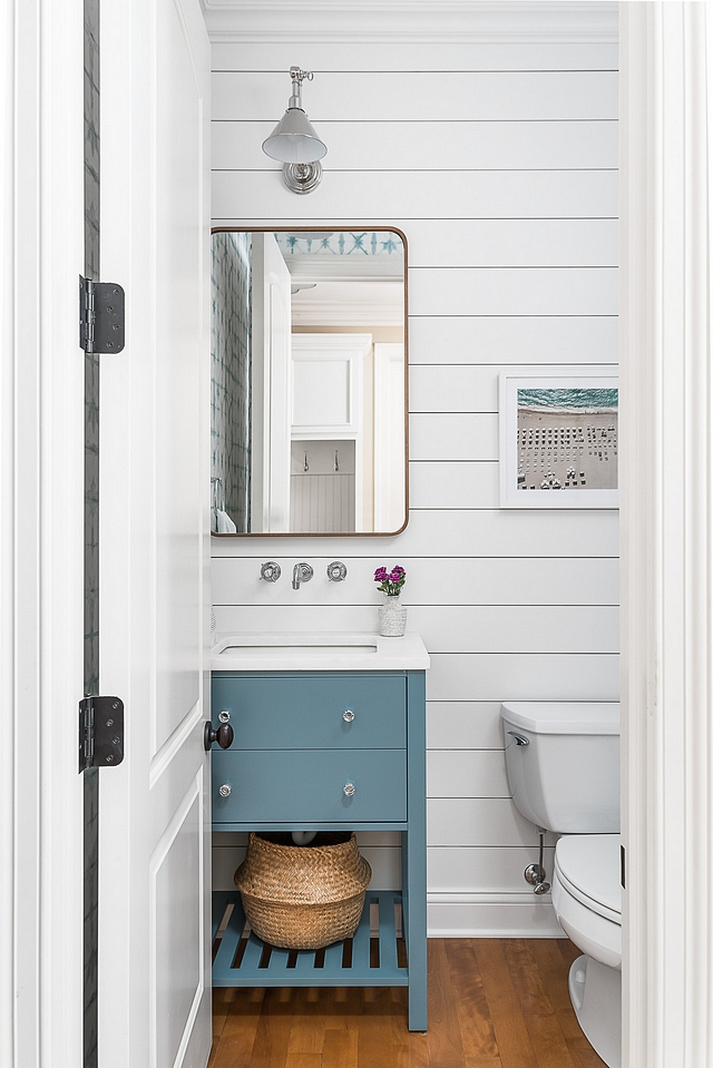 Benjamin Moore White Dove OC-17 Shiplap The Shiplap behind the sink area is painted in Benjamin Moore White Dove OC-17 Benjamin Moore White Dove OC-17 Shiplap Benjamin Moore White Dove OC-17 Shiplap Benjamin Moore White Dove OC-17 Shiplap #BenjaminMooreWhiteDoveOC17 #Shiplap