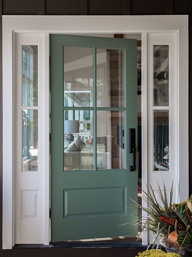Sherwin Williams SW 2811 Rookwood Blue Green Front Door Paint Color Sherwin Williams SW 2811 Rookwood Blue Green #door #paintcolor #frontdoor #SherwinWilliamsSW2811RookwoodBlueGreen #SherwinWilliamsRookwoodBlueGreen #SherwinWilliamsSW2811