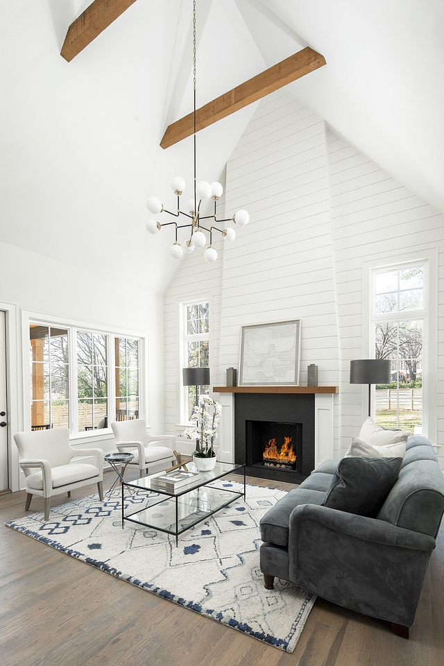 Tall shiplap Fireplace Tall shiplap Fireplace wall When faced with a tall, focal point wall there is almost no better choice than to cover it with shiplap Tall shiplap Fireplace design Tall shiplap Fireplace Tall shiplap Fireplace Tall shiplap Fireplace #TallshiplapFireplace #TallFireplace #shiplap #shiplapFireplace