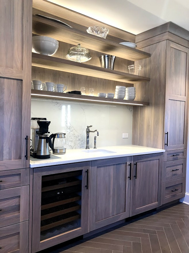 Kitchen Renovation With Grey Stained Oak Cabinets Home Bunch Interior Design Ideas