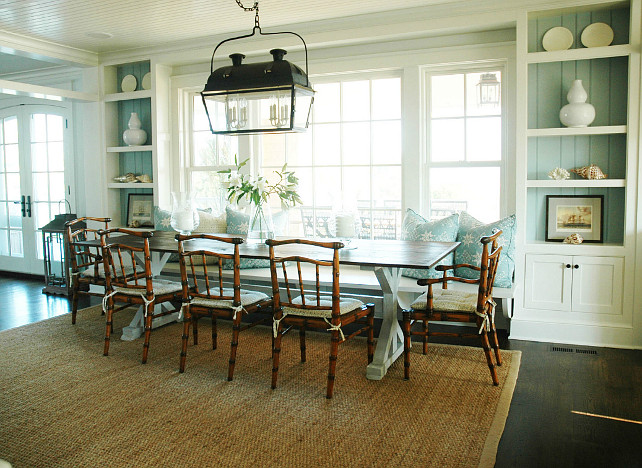 Shingle Beach Cottage With Coastal Interiors Home Bunch Interior Design Ideas