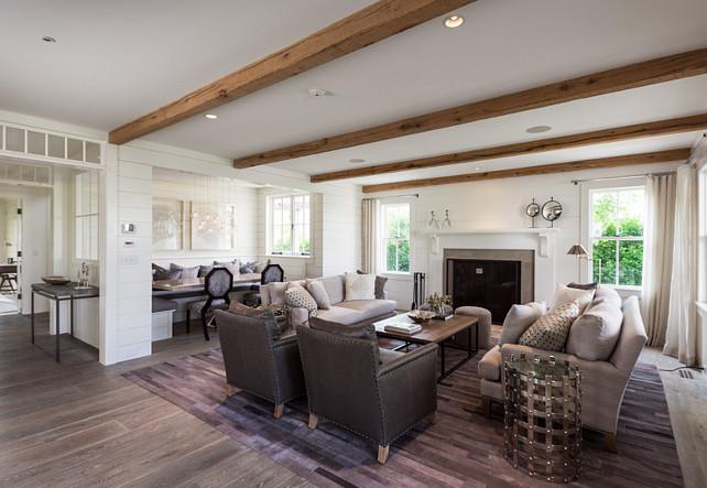 Family Room and Breakfast Nook. Open Floor plan concept with family room and breakfast nook. Main floor with an open concept. #OpenFloorPlan #OpenConcep #OpenLayout #FamilyRoom #BreakfastNook #MainFloor