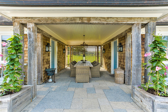 French Country Farmhouse for Sale - Home Bunch Interior ... on Country Patio Ideas id=79564