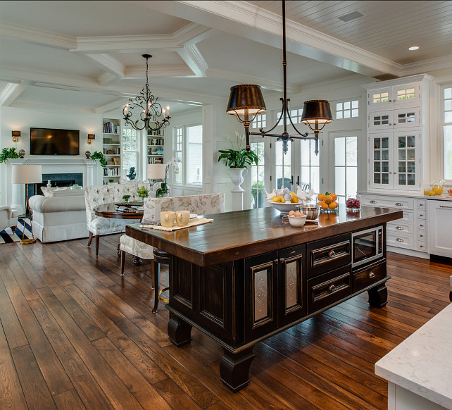 Open Floor Plan Kitchen Designs