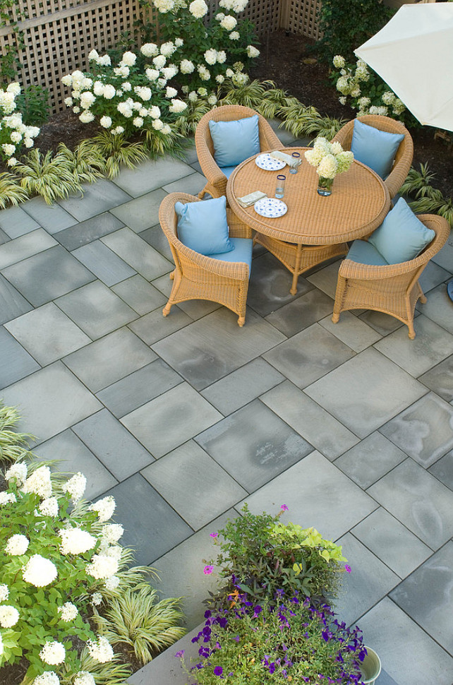 Tips for Giving Your Garden a New Look - Home Bunch ... on Small Backyard Stone Patio Ideas id=18291