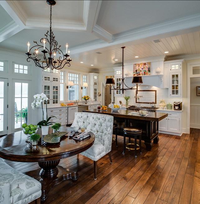Coastal Home with Traditional Interiors - Home Bunch ... on Traditional Kitchen Decor  id=59837