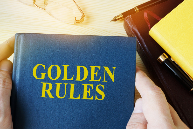The Golden Rules Of Online Marketing, Part 1