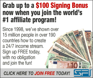 Earn money online with the world's largest affiliate network, SFI